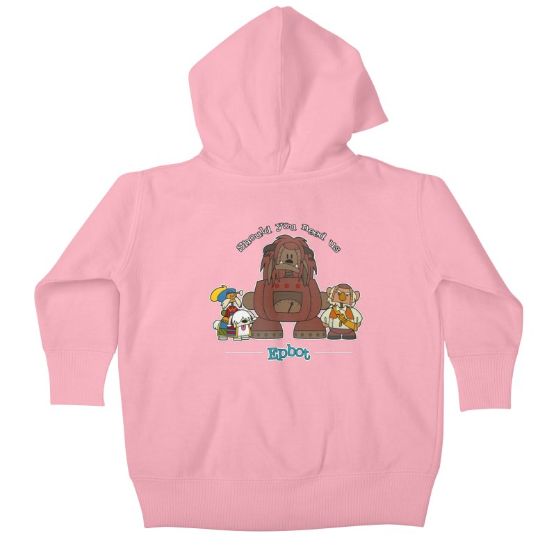 Should you need us Kids Baby Zip-Up Hoody by Epbot's Artist Shop
