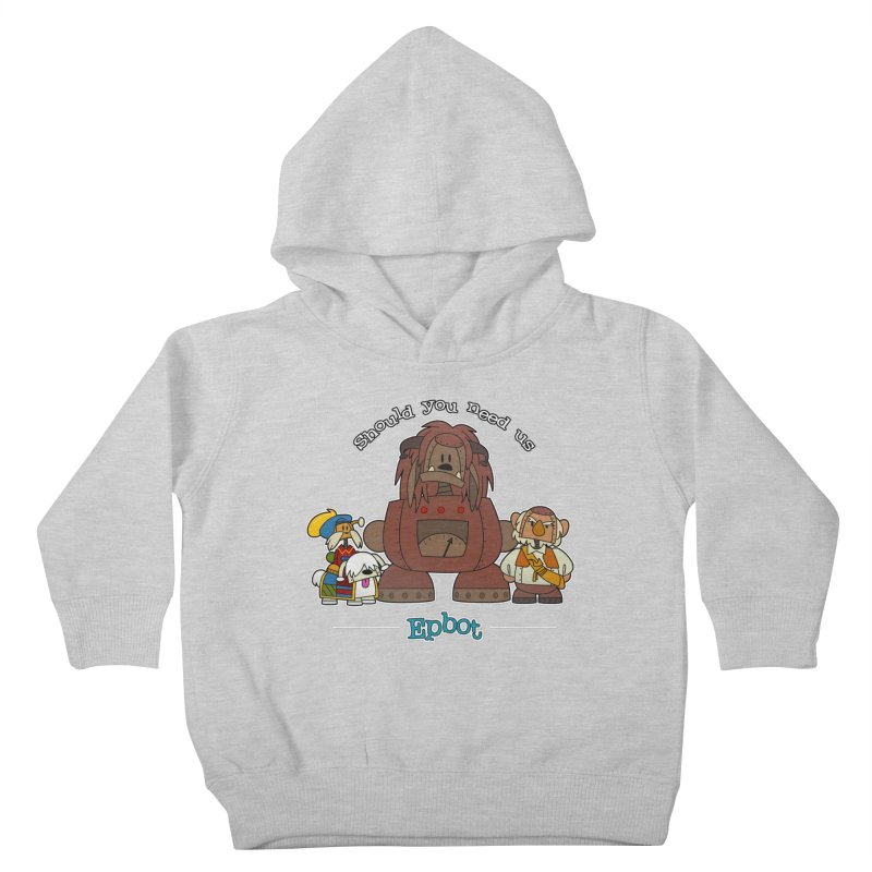 Should you need us Kids Toddler Pullover Hoody by Epbot's Artist Shop