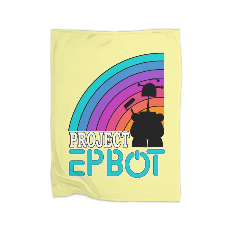Project Epbot Home Blanket by Epbot's Artist Shop