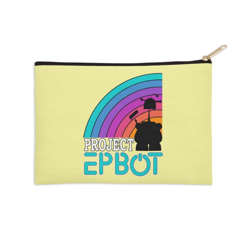 Project Epbot Accessories Zip Pouch by Epbot's Artist Shop