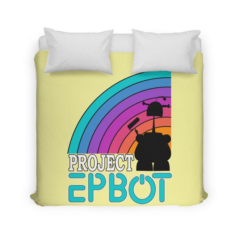 Project Epbot Home Duvet by Epbot's Artist Shop
