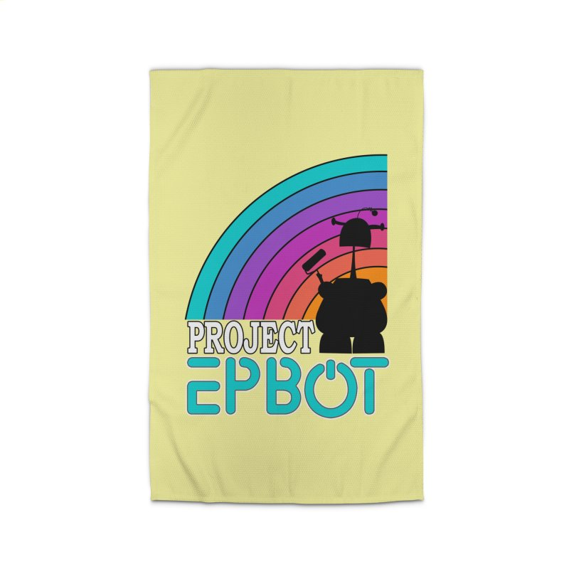 Project Epbot Home Rug by Epbot's Artist Shop
