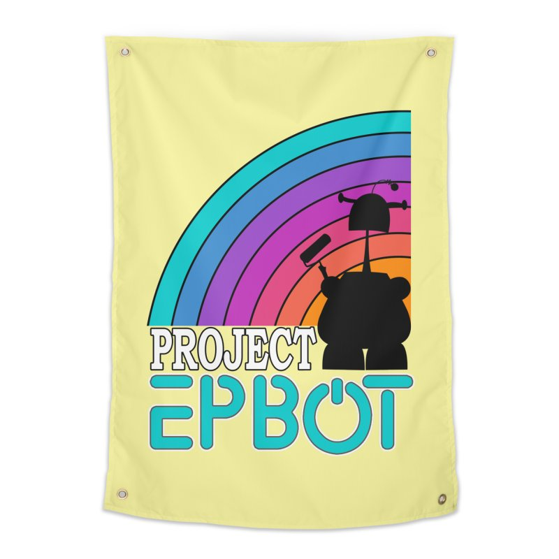 Project Epbot Home Tapestry by Epbot's Artist Shop