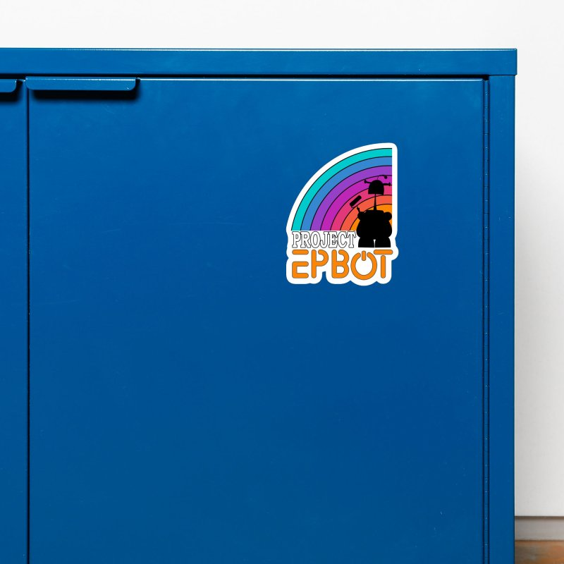 Project Epbot Orange Accessories Magnet by Epbot's Artist Shop
