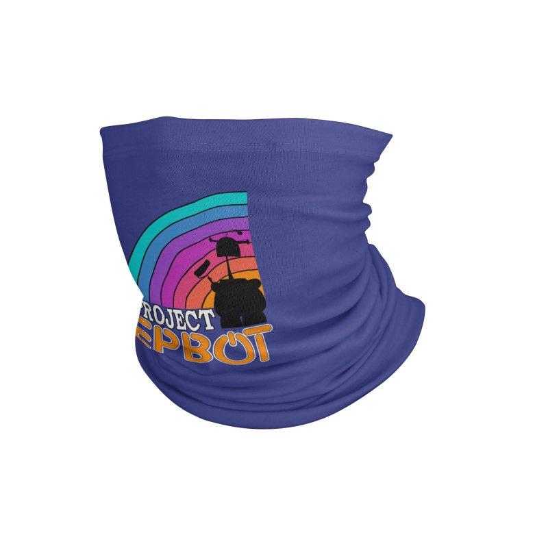 Project Epbot Orange Accessories Neck Gaiter by Epbot's Artist Shop