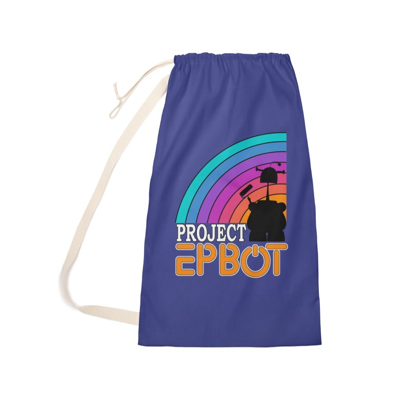 Project Epbot Orange Accessories Bag by Epbot's Artist Shop