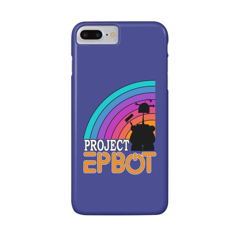 Project Epbot Orange Accessories Phone Case by Epbot's Artist Shop
