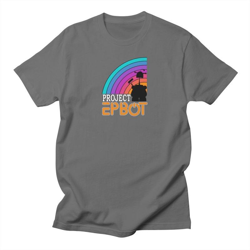 Project Epbot Orange Men's T-Shirt by Epbot's Artist Shop