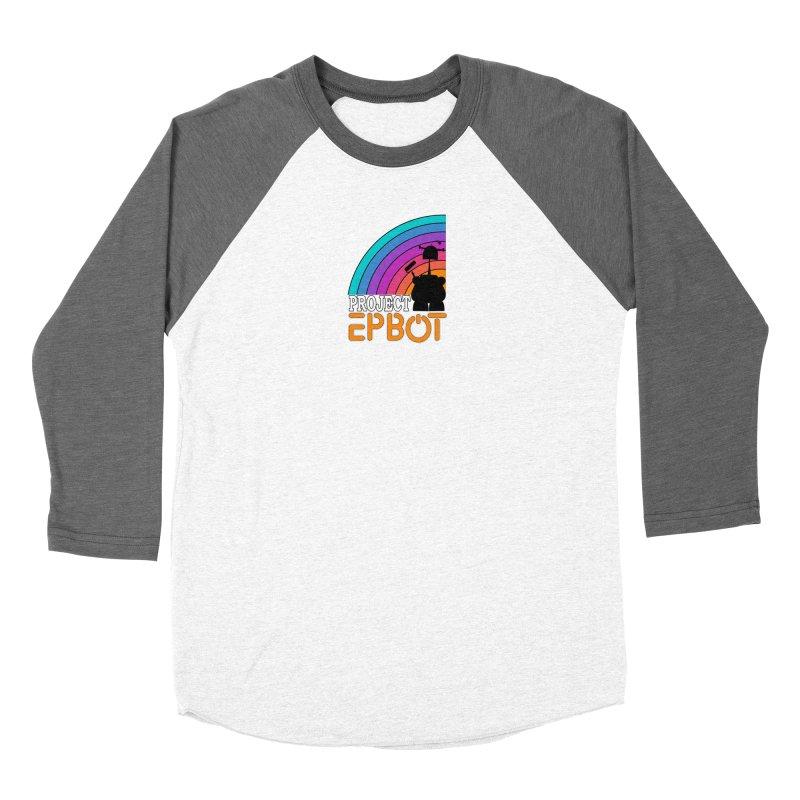 Project Epbot Orange Women's Longsleeve T-Shirt by Epbot's Artist Shop