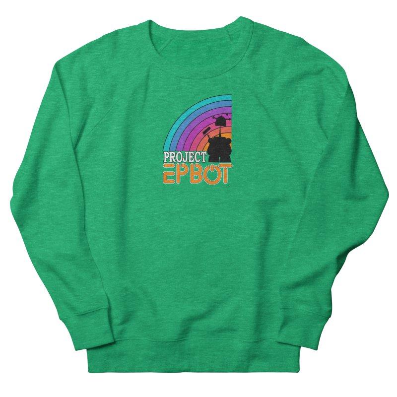 Project Epbot Orange Women's Sweatshirt by Epbot's Artist Shop