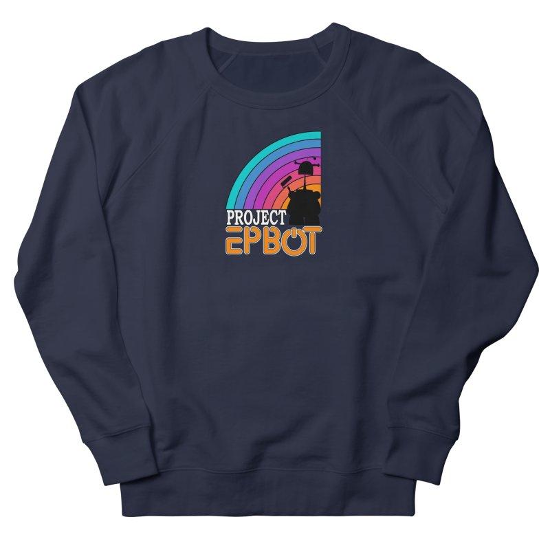 Project Epbot Orange Men's Sweatshirt by Epbot's Artist Shop