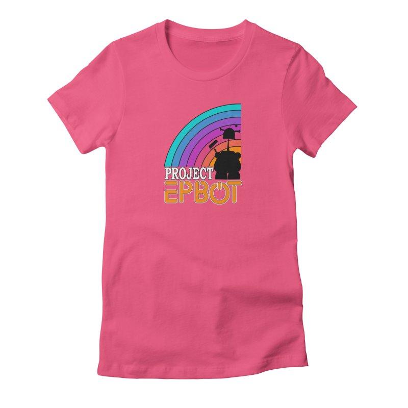 Project Epbot Orange Women's T-Shirt by Epbot's Artist Shop