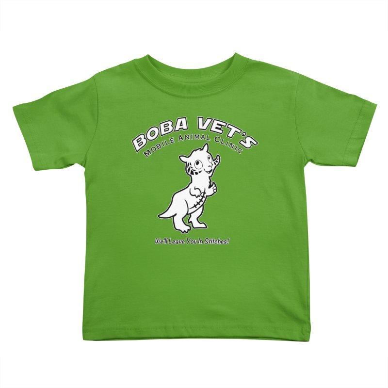 Boba Vet's Mobile Animal Clinic Kids Toddler T-Shirt by Epbot's Artist Shop