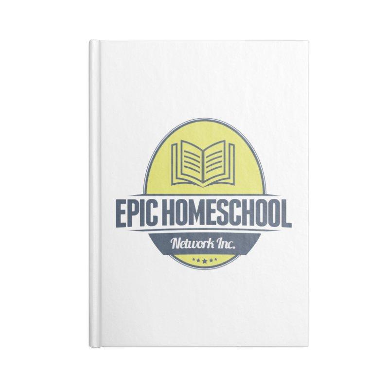 EPIC Homeschoolers Merchandise Accessories Notebook by EPIC Homeschoolers Merch Shop