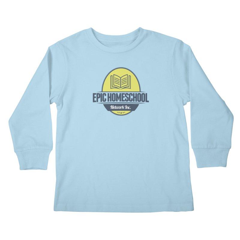 EPIC Homeschoolers Merchandise Kids Longsleeve T-Shirt by EPIC Homeschoolers Merch Shop