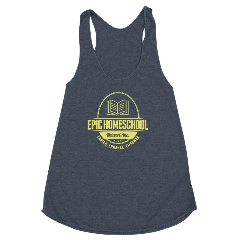 EPIC Homeschoolers Merchandise - Blue & Gold Women's Tank by EPIC Homeschoolers Merch Shop