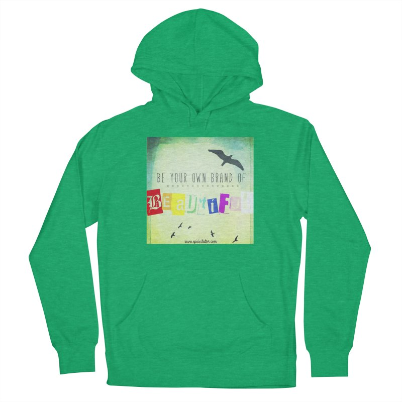 BYOBOB! in Women's French Terry Pullover Hoody Heather Kelly by epicinitiator's Shop