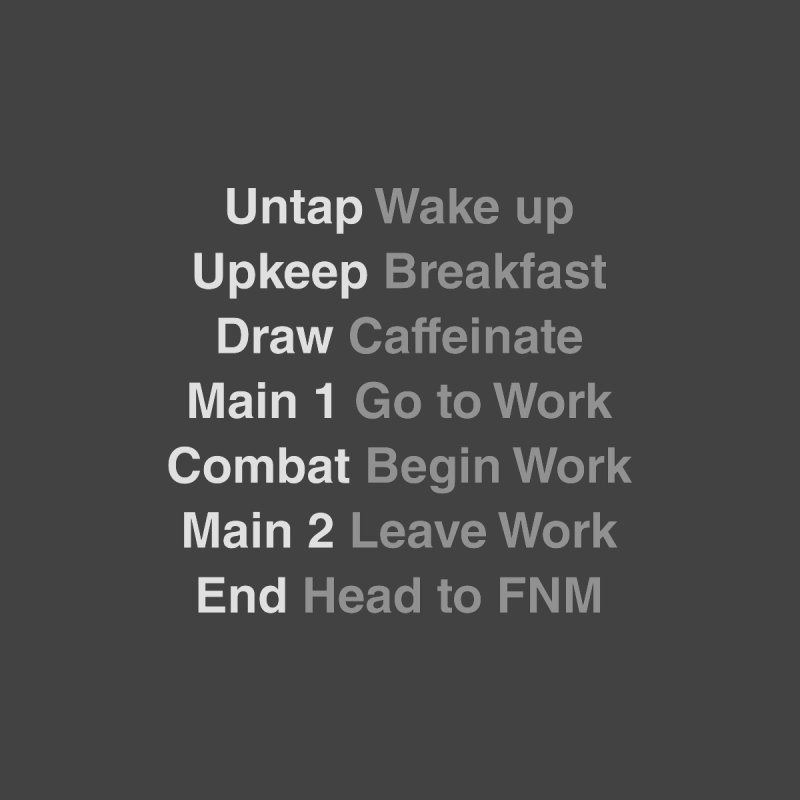 The Phases of Life by Epic Upgrades