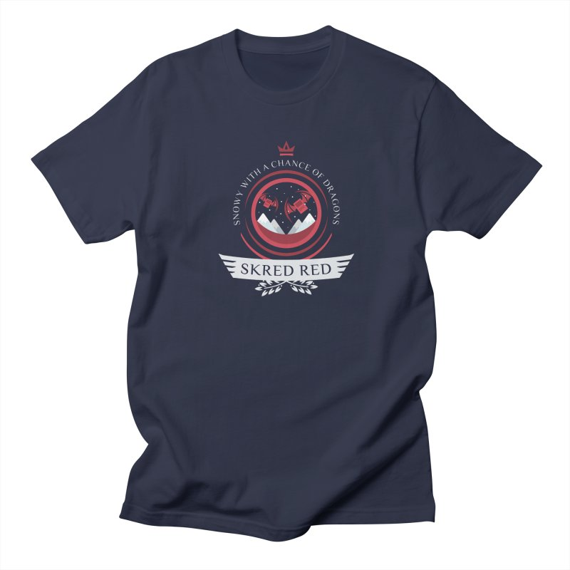 Skred Red Life V2 Women's Unisex T-Shirt by Epic Upgrades