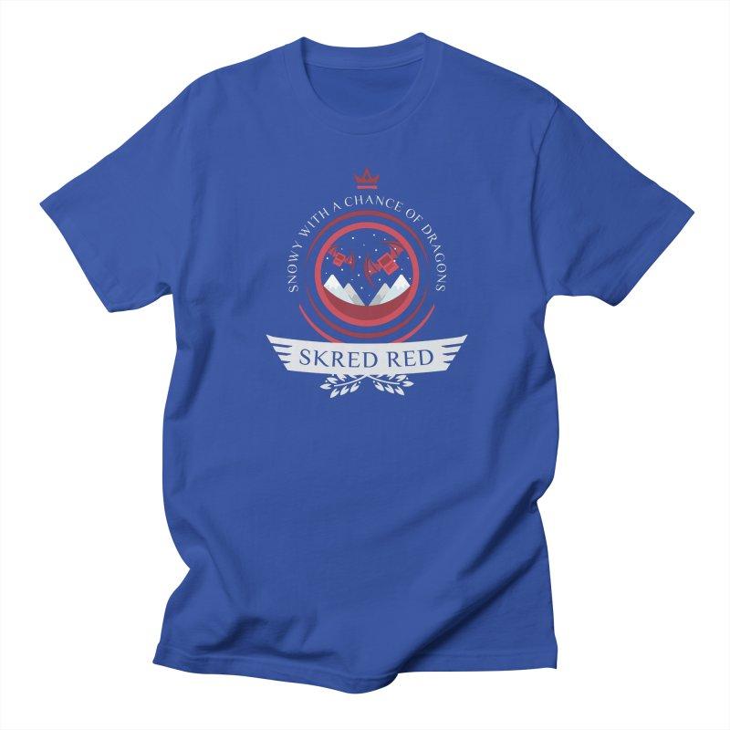 Skred Red Life V2 Women's Regular Unisex T-Shirt by Epic Upgrades