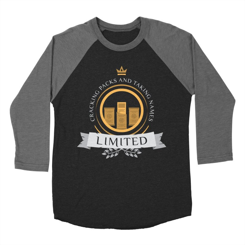 Limited Life V2 Women's Baseball Triblend Longsleeve T-Shirt by Epic Upgrades