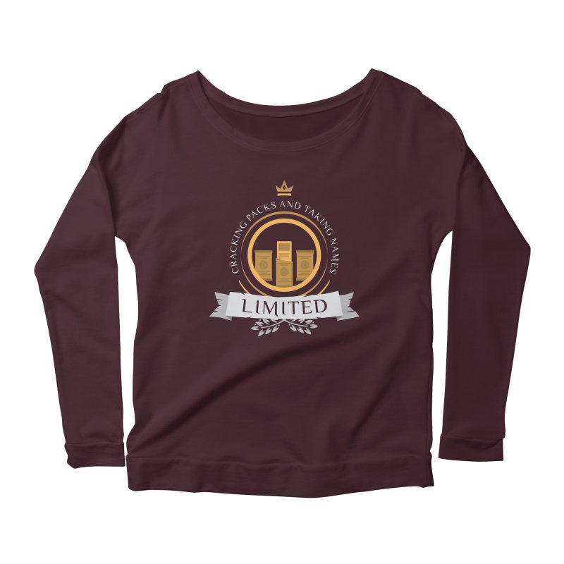 Limited Life V2 Women's Longsleeve Scoopneck  by Epic Upgrades