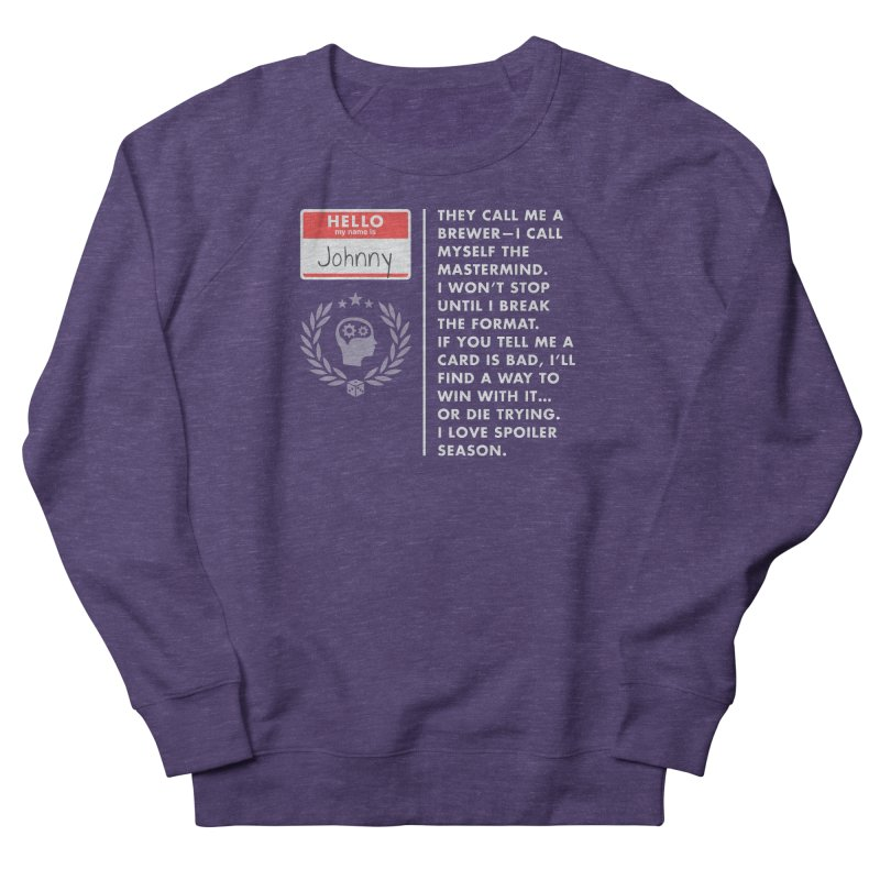 Johnny Women's Sweatshirt by Epic Upgrades