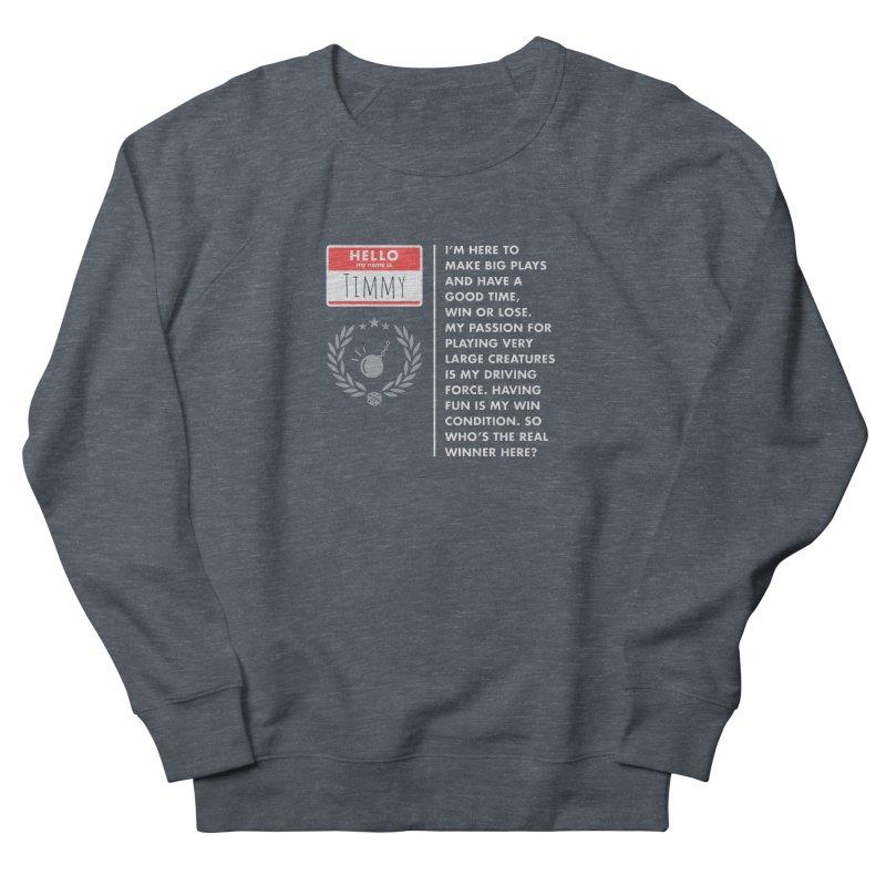 Timmy Women's Sweatshirt by Epic Upgrades