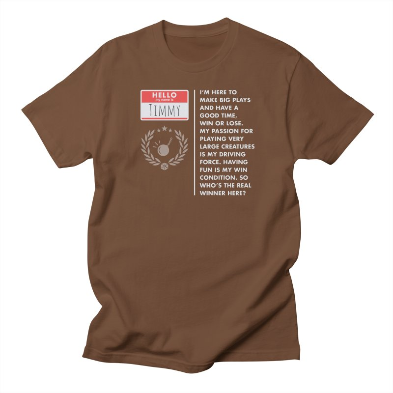 Timmy Women's Unisex T-Shirt by Epic Upgrades