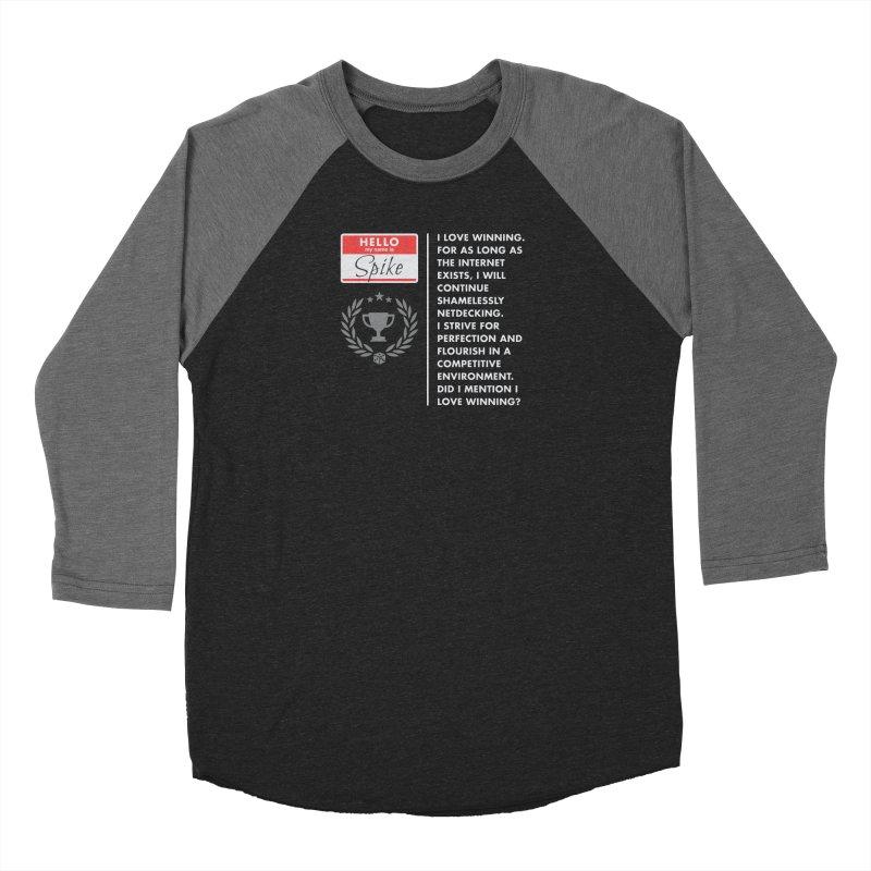 Spike Women's Baseball Triblend Longsleeve T-Shirt by Epic Upgrades