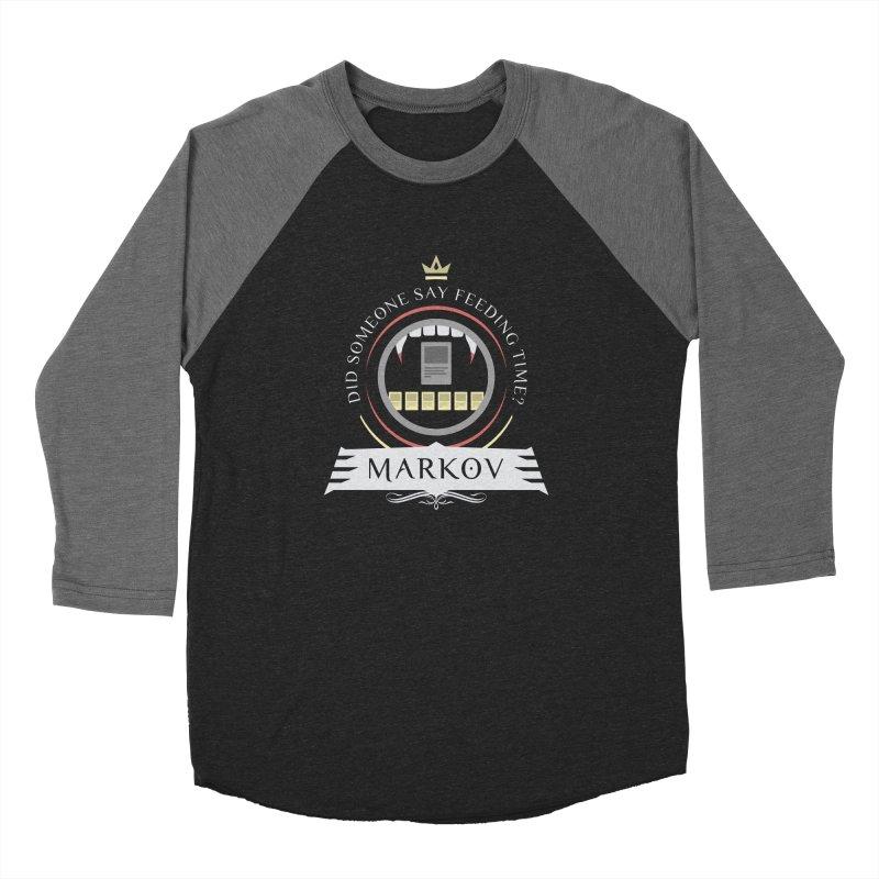 Commander Markov Men's Baseball Triblend T-Shirt by Epic Upgrades