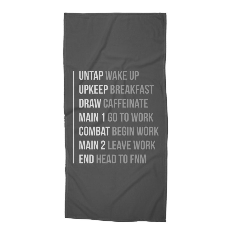 Phases of Life V2 Accessories Beach Towel by Epic Upgrades