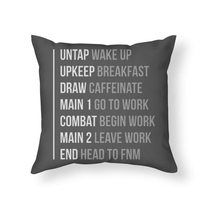 Phases of Life V2 Home Throw Pillow by Epic Upgrades