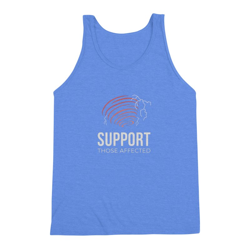 Cyclonic Rift - Support those Affected Men's Triblend Tank by Epic Upgrades