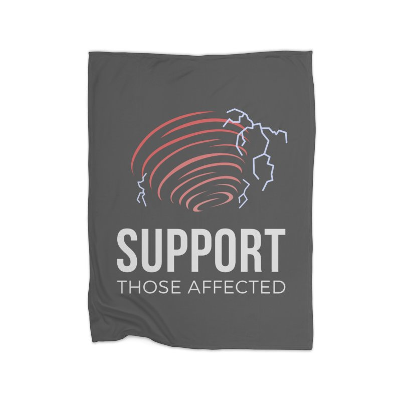 Cyclonic Rift - Support those Affected Home Blanket by Epic Upgrades