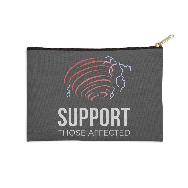 Cyclonic Rift - Support those Affected Accessories Zip Pouch by Epic Upgrades