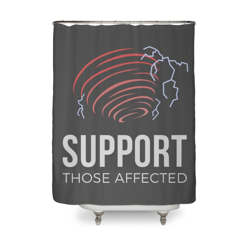 Cyclonic Rift - Support those Affected Home Shower Curtain by Epic Upgrades