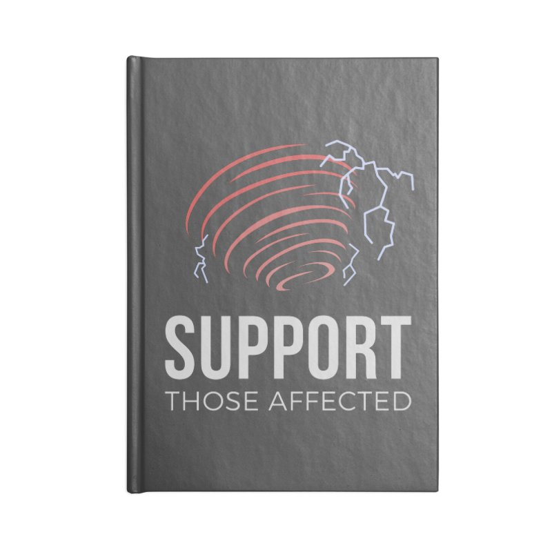 Cyclonic Rift - Support those Affected Accessories Notebook by Epic Upgrades