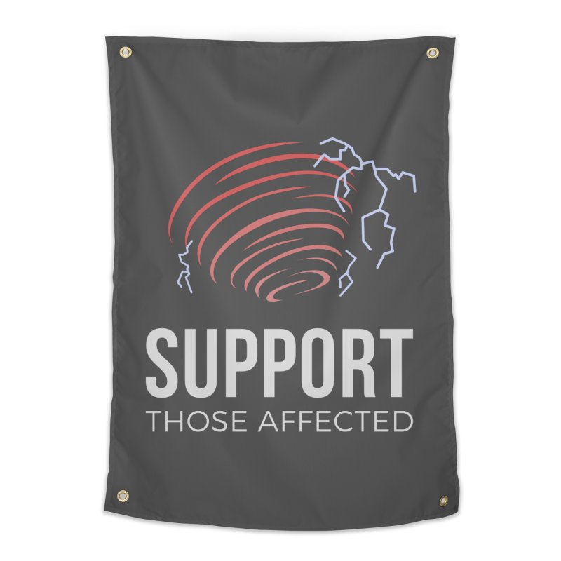 Cyclonic Rift - Support those Affected Home Tapestry by Epic Upgrades