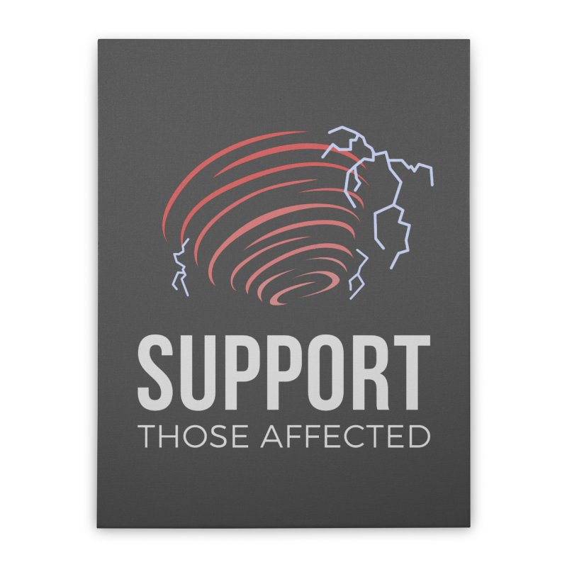 Cyclonic Rift - Support those Affected Home Stretched Canvas by Epic Upgrades