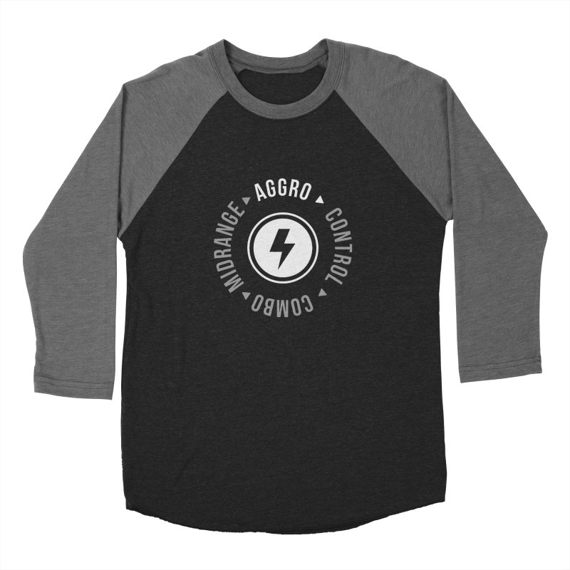 Aggro Mode Men's Baseball Triblend T-Shirt by Epic Upgrades