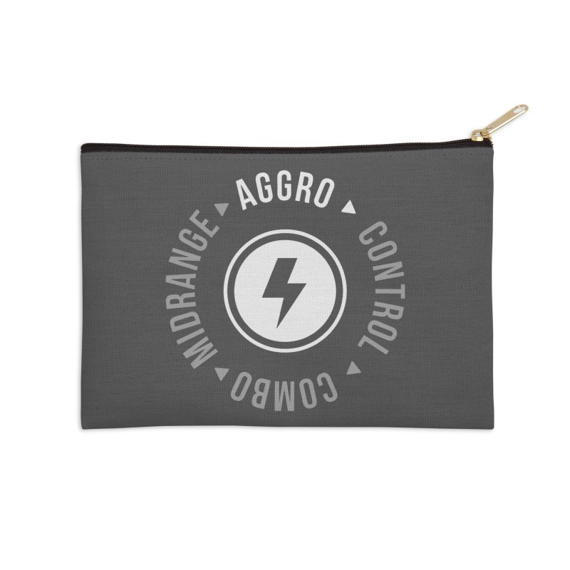 Aggro Mode Accessories Zip Pouch by Epic Upgrades