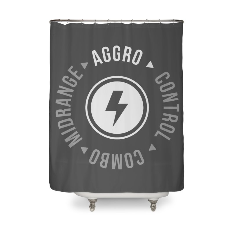 Aggro Mode Home Shower Curtain by Epic Upgrades