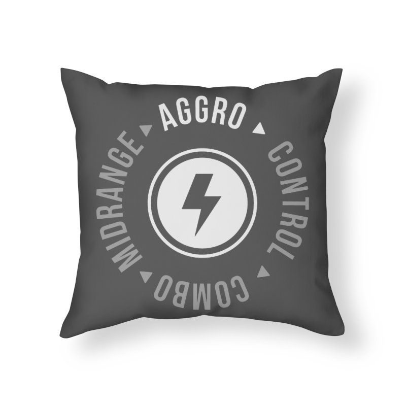 Aggro Mode Home Throw Pillow by Epic Upgrades