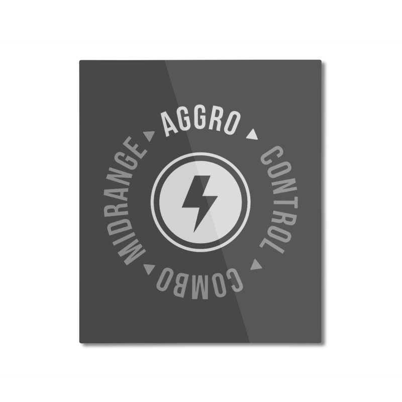 Aggro Mode Home Mounted Aluminum Print by Epic Upgrades