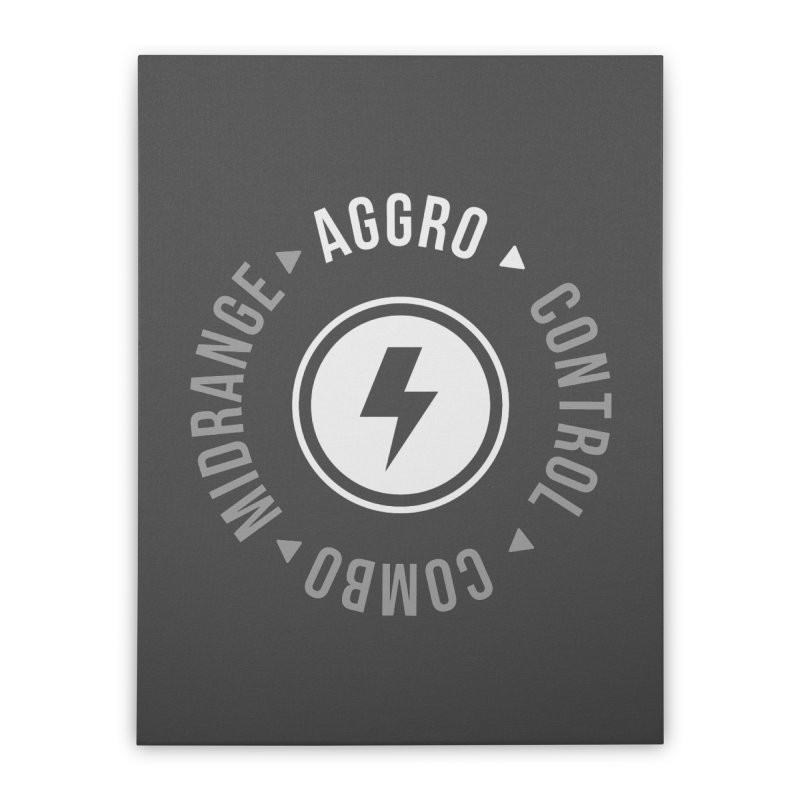 Aggro Mode Home Stretched Canvas by Epic Upgrades