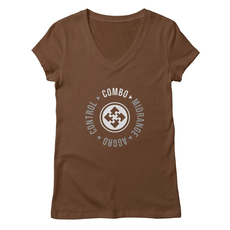 Combo Mode Women's V-Neck by Epic Upgrades