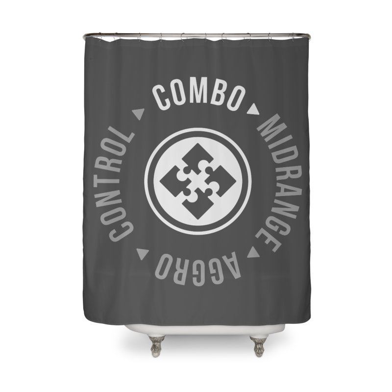 Combo Mode Home Shower Curtain by Epic Upgrades
