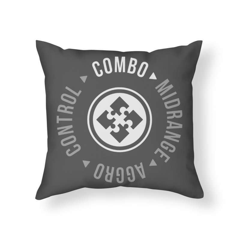 Combo Mode Home Throw Pillow by Epic Upgrades