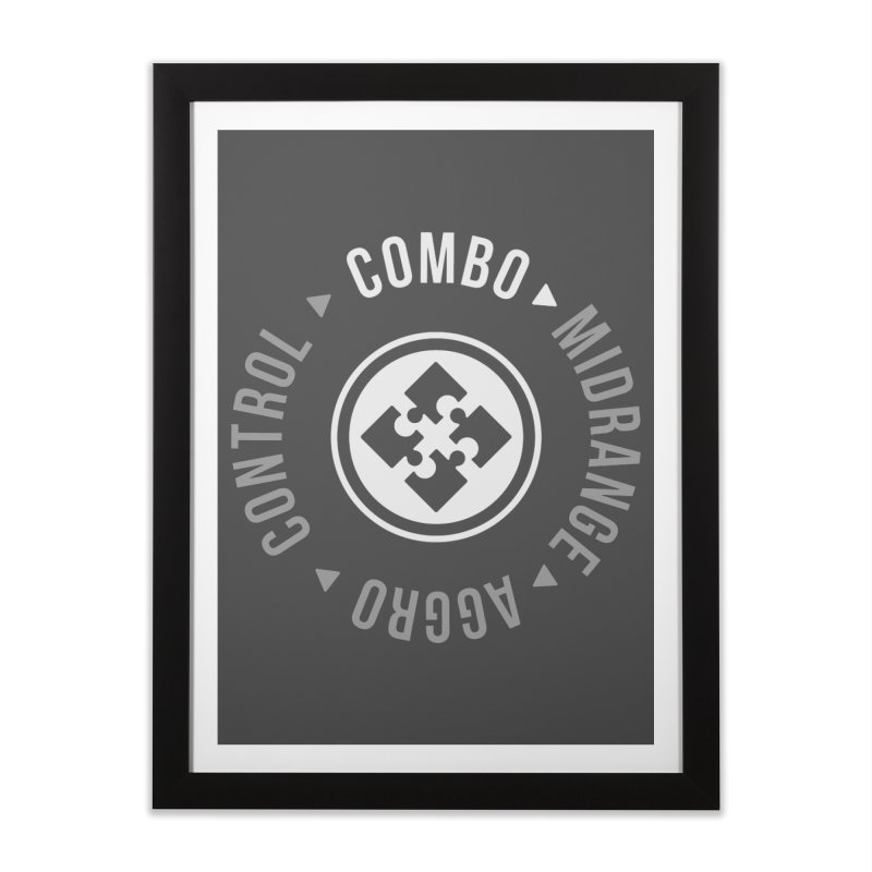 Combo Mode Home Framed Fine Art Print by Epic Upgrades
